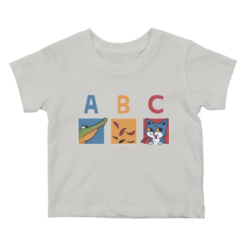 A-B See Ya! Kids Baby T-Shirt by Ibyes