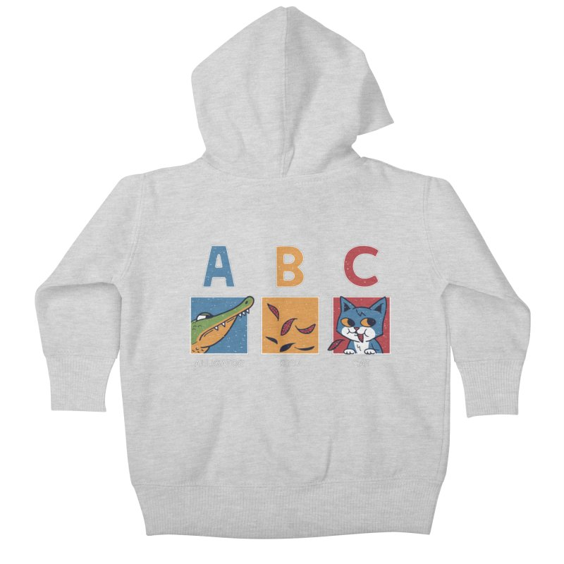 A-B See Ya! Kids Baby Zip-Up Hoody by Ibyes