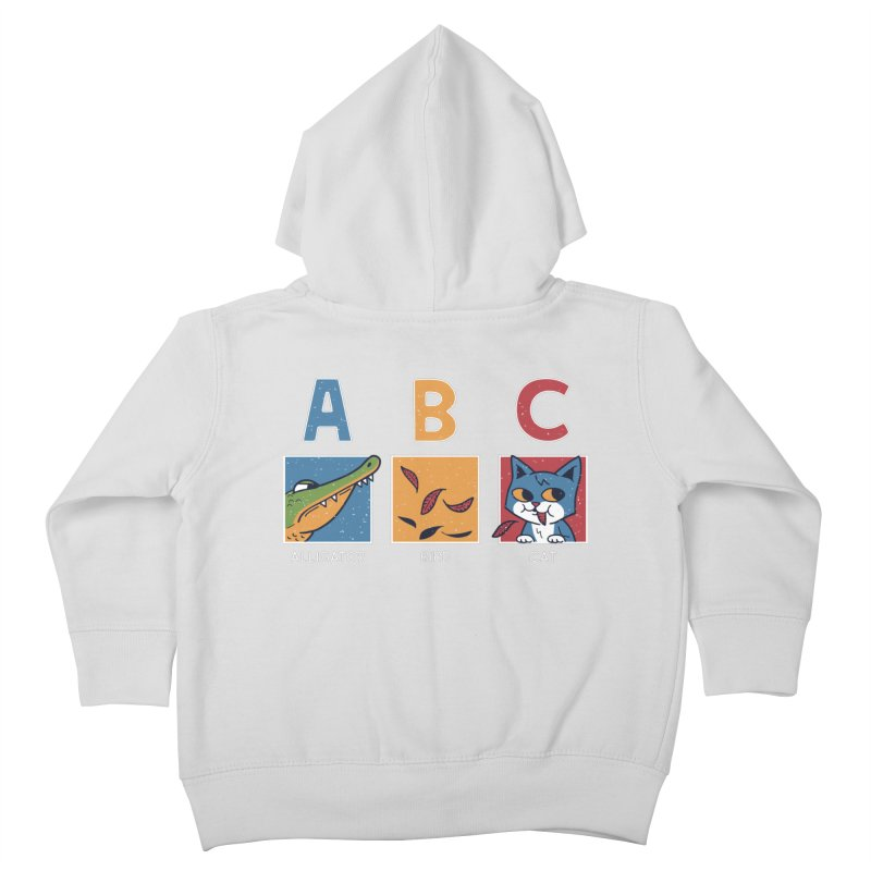 A-B See Ya! Kids Toddler Zip-Up Hoody by Ibyes