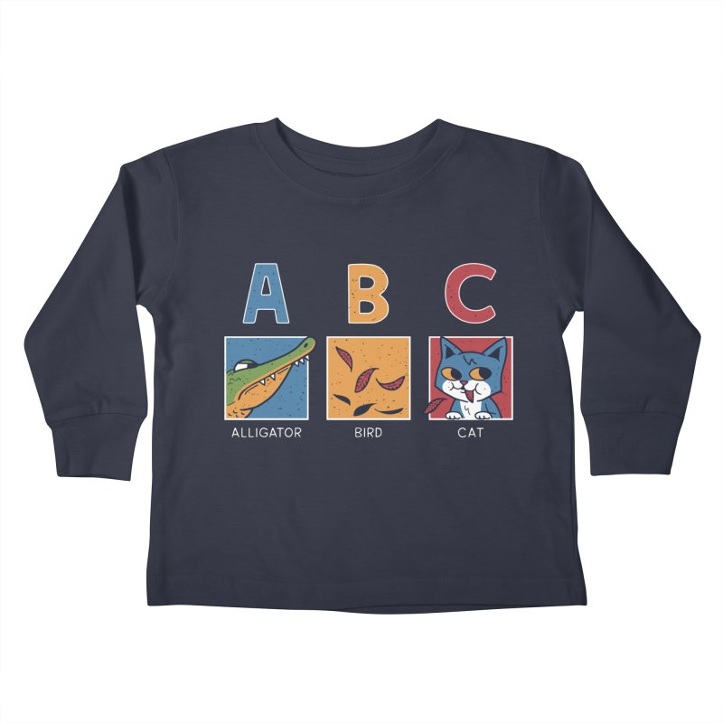 A-B See Ya! Kids Toddler Longsleeve T-Shirt by Ibyes
