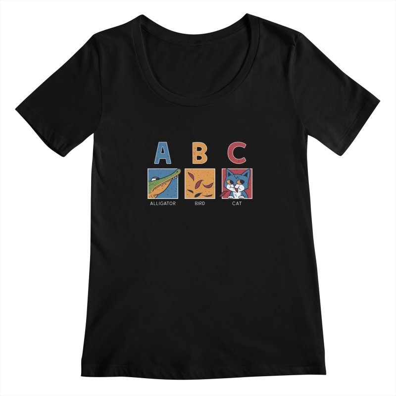 A-B See Ya! Women's Scoopneck by Ibyes