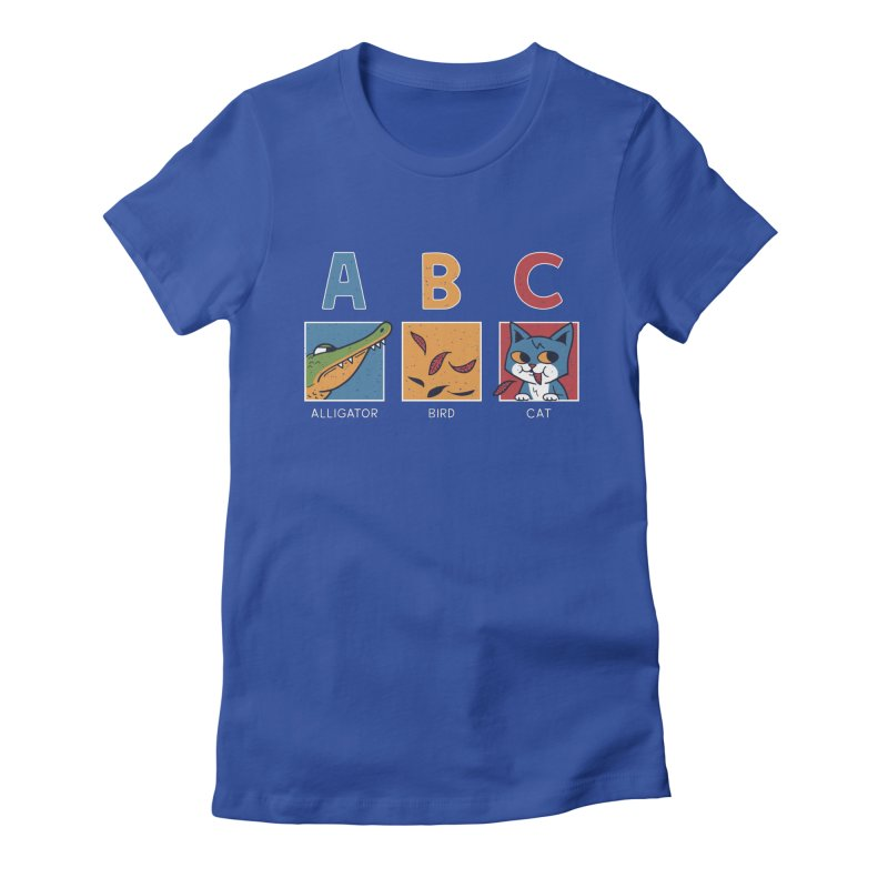 A-B See Ya! Women's Fitted T-Shirt by Ibyes