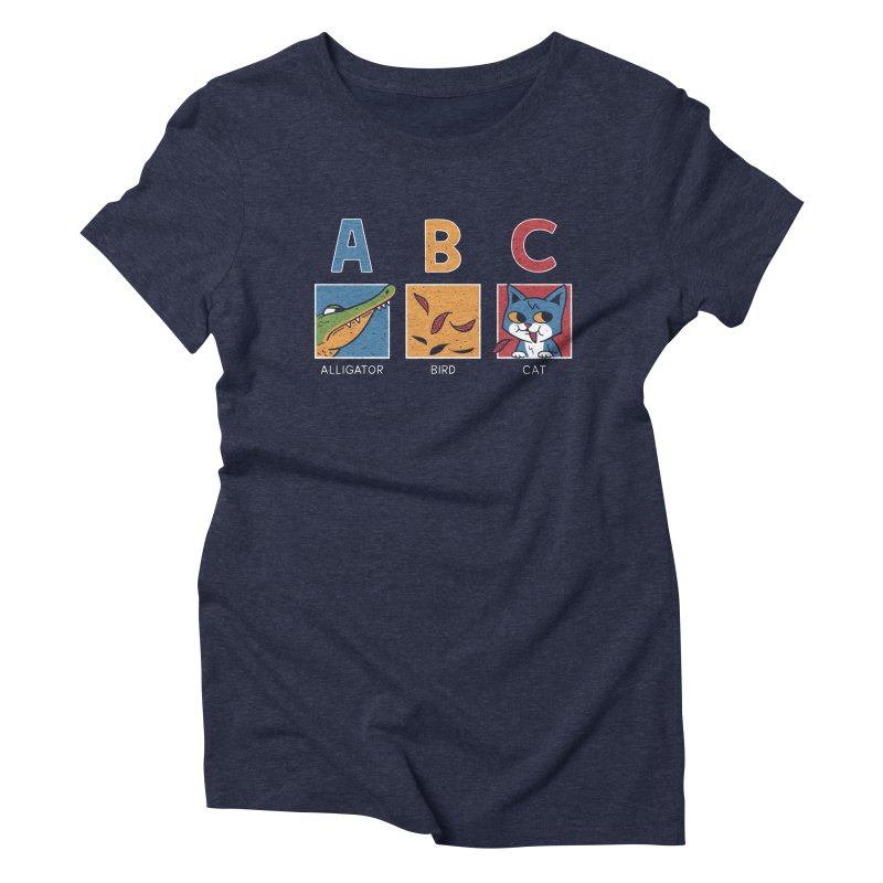 A-B See Ya! Women's Triblend T-Shirt by Ibyes