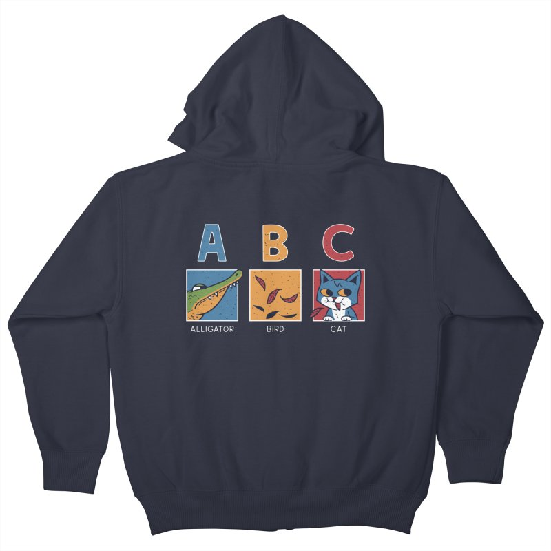 A-B See Ya! Kids Zip-Up Hoody by Ibyes