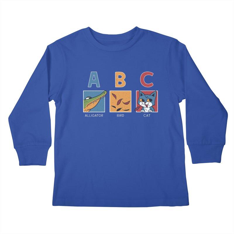 A-B See Ya! Kids Longsleeve T-Shirt by Ibyes