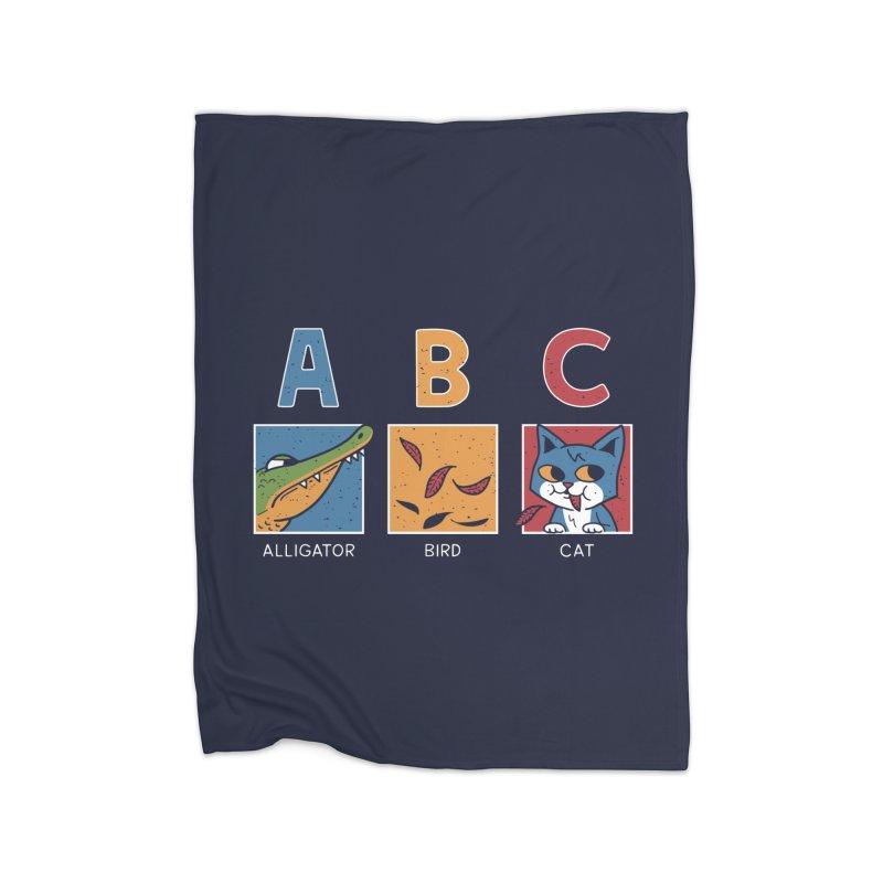 A-B See Ya! Home Fleece Blanket by Ibyes