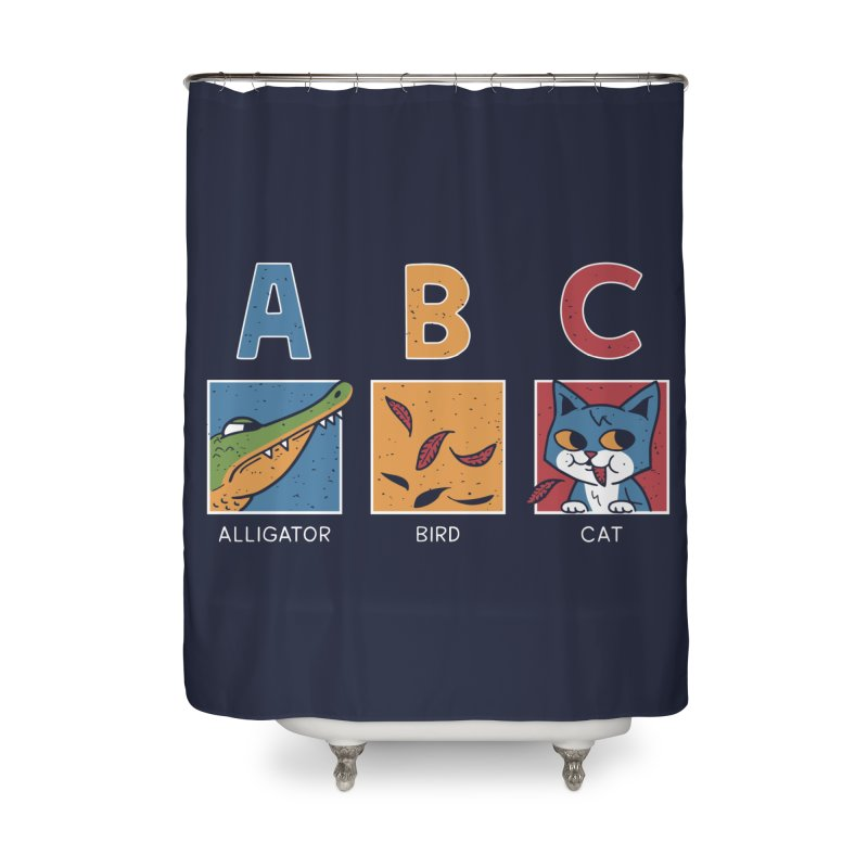 A-B See Ya! Home Shower Curtain by Ibyes