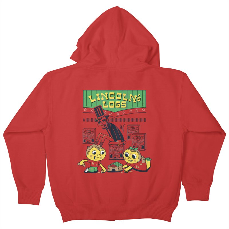 Lincoln's Logs Kids Zip-Up Hoody by Ibyes