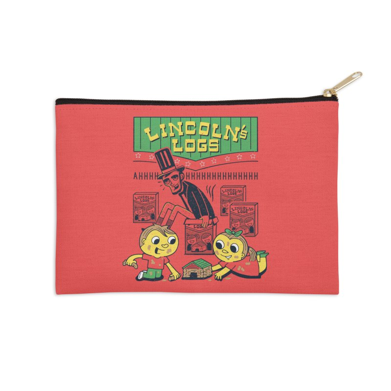 Lincoln's Logs Accessories Zip Pouch by Ibyes