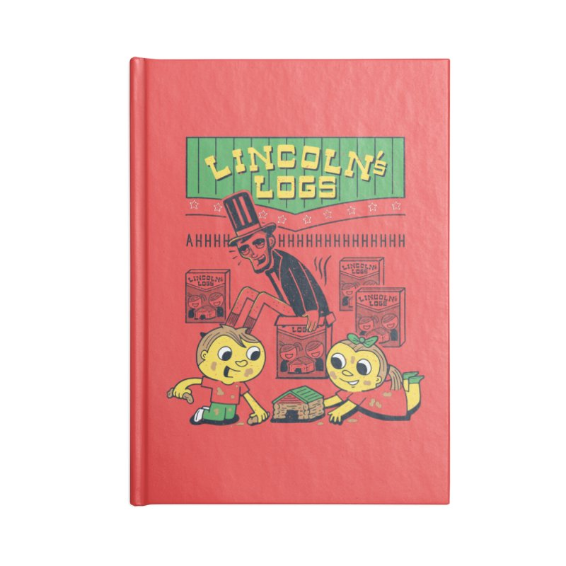 Lincoln's Logs Accessories Notebook by Ibyes