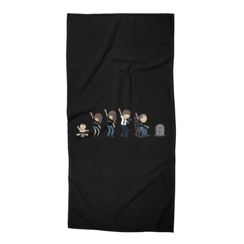 Rock of Stages Accessories Beach Towel by Ibyes
