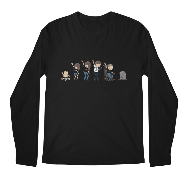 Rock of Stages Men's Regular Longsleeve T-Shirt by Ibyes