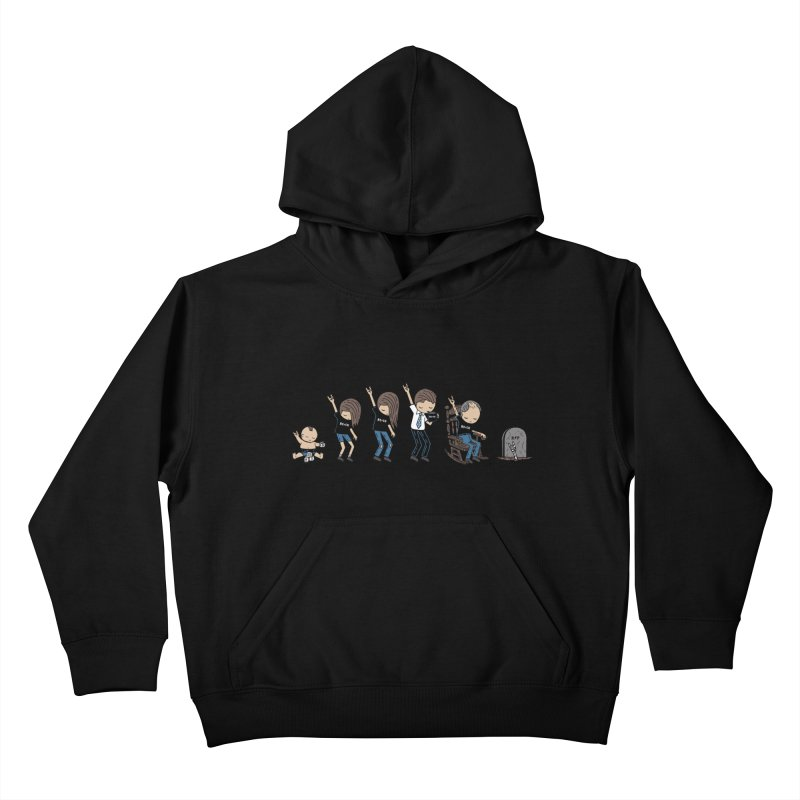 Rock of Stages Kids Pullover Hoody by Ibyes