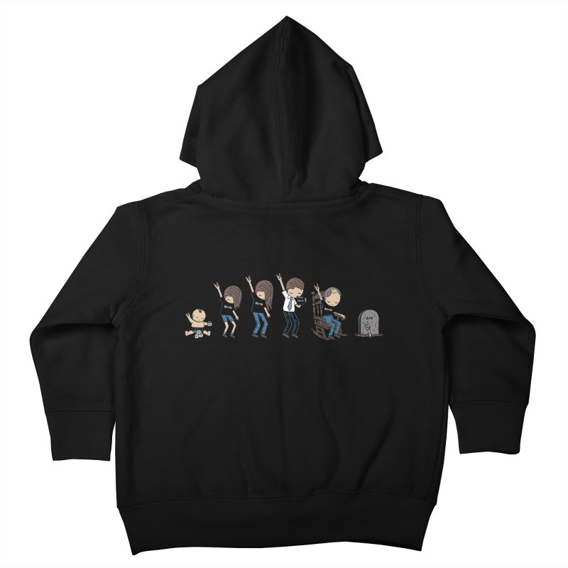 Rock of Stages Kids Toddler Zip-Up Hoody by Ibyes