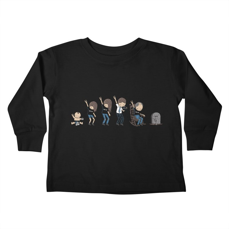 Rock of Stages Kids Toddler Longsleeve T-Shirt by Ibyes