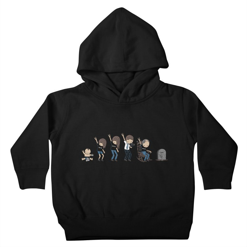 Rock of Stages Kids Toddler Pullover Hoody by Ibyes