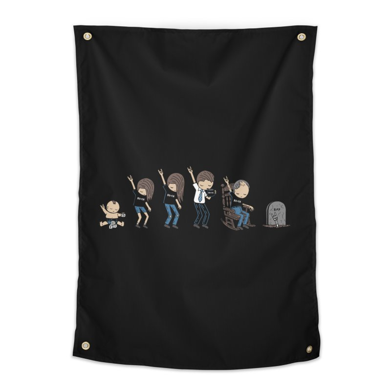 Rock of Stages Home Tapestry by Ibyes