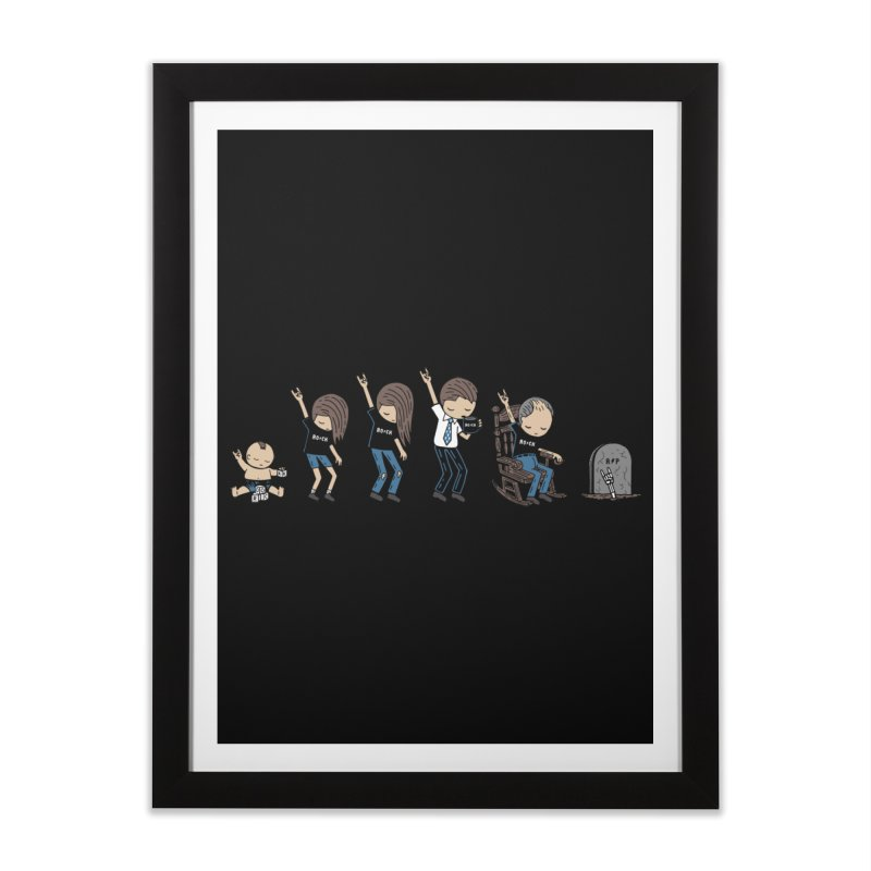 Rock of Stages Home Framed Fine Art Print by Ibyes