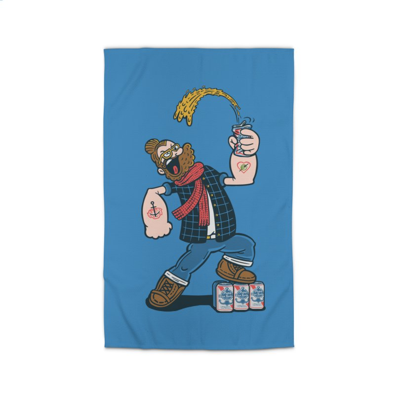 Hipster Man Home Rug by Ibyes
