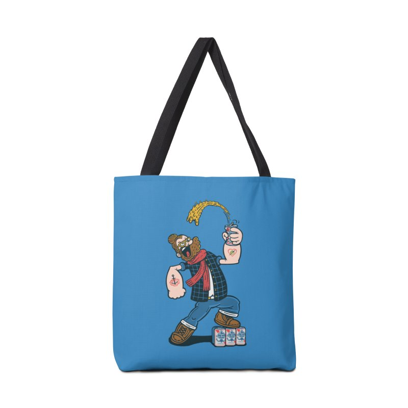 Hipster Man Accessories Bag by Ibyes