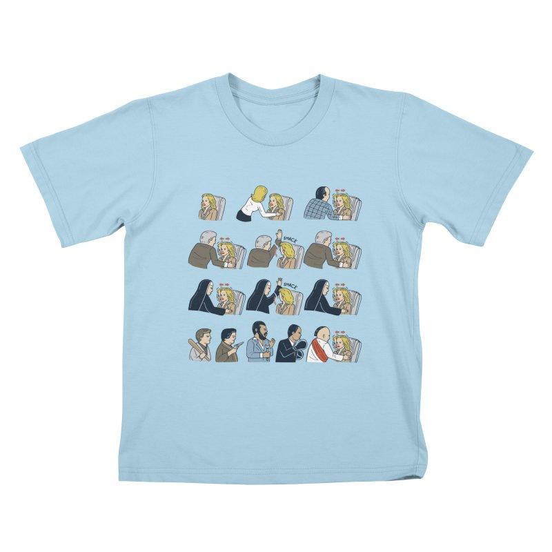 Don't Panic Kids T-Shirt by Ibyes