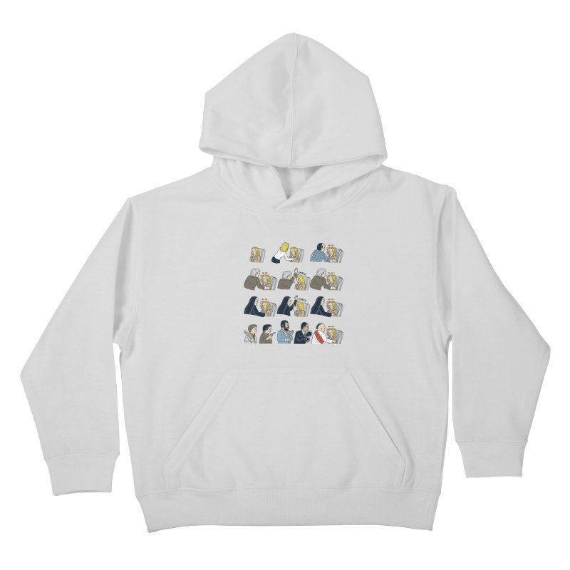 Don't Panic Kids Pullover Hoody by Ibyes