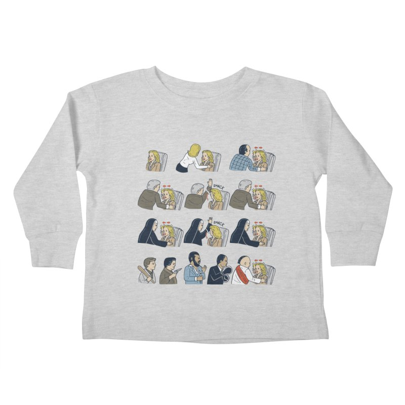 Don't Panic Kids Toddler Longsleeve T-Shirt by Ibyes