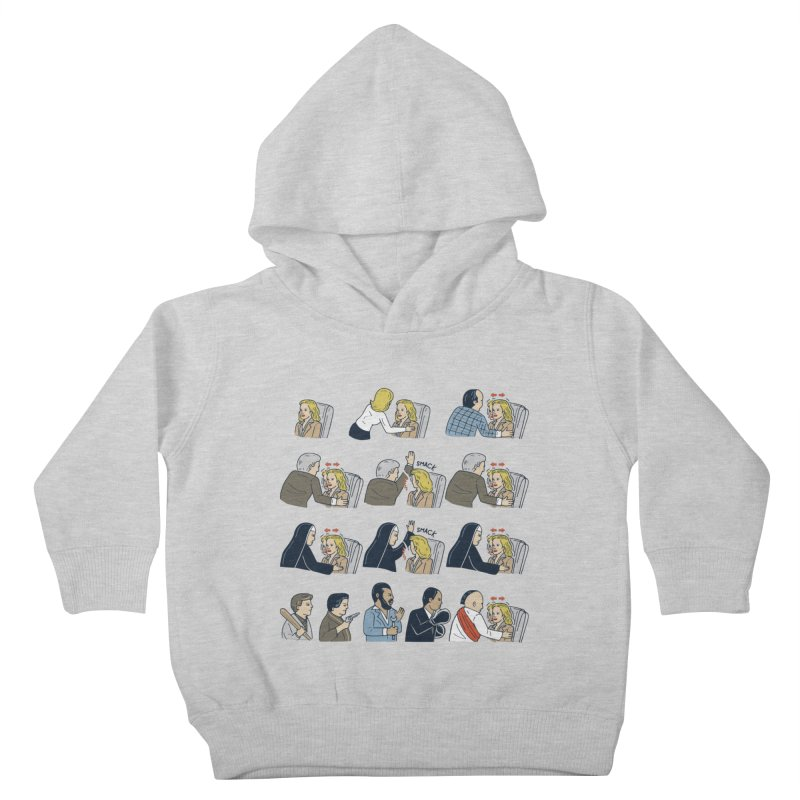 Don't Panic Kids Toddler Pullover Hoody by Ibyes