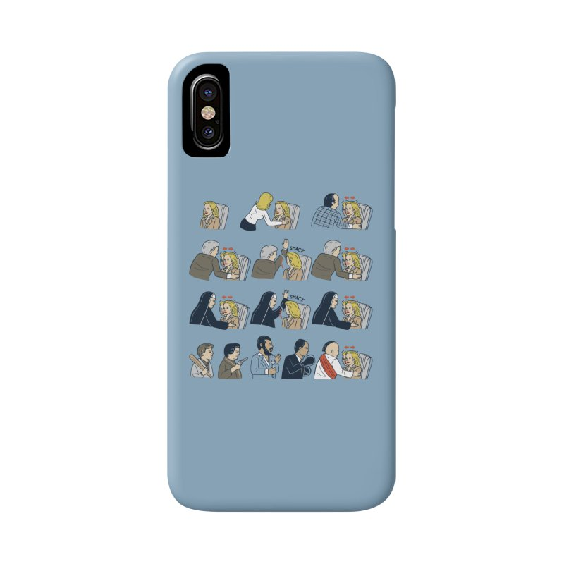 Don't Panic Accessories Phone Case by Ibyes