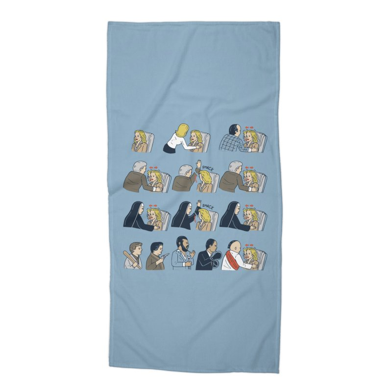 Don't Panic Accessories Beach Towel by Ibyes