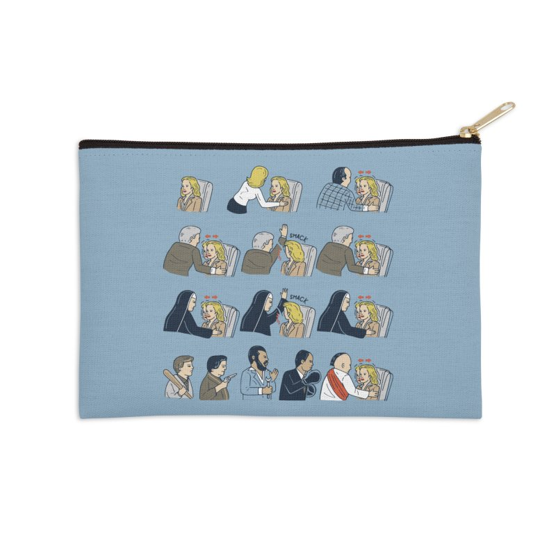 Don't Panic Accessories Zip Pouch by Ibyes