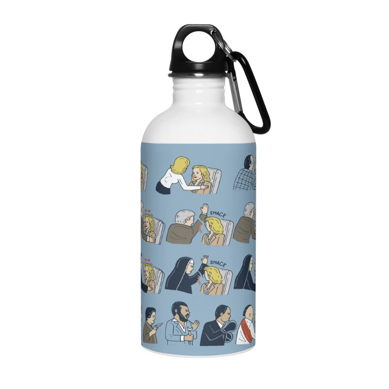 Don't Panic Accessories Water Bottle by Ibyes