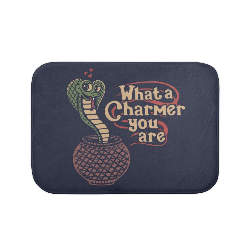 Charmed I'm sure Home Bath Mat by Ibyes