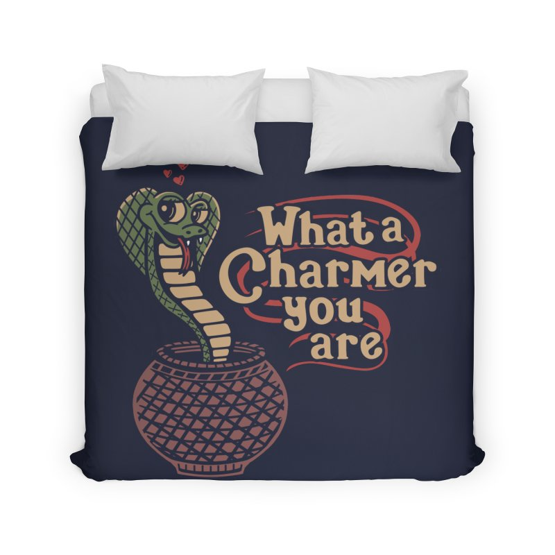 Charmed I'm sure Home Duvet by Ibyes