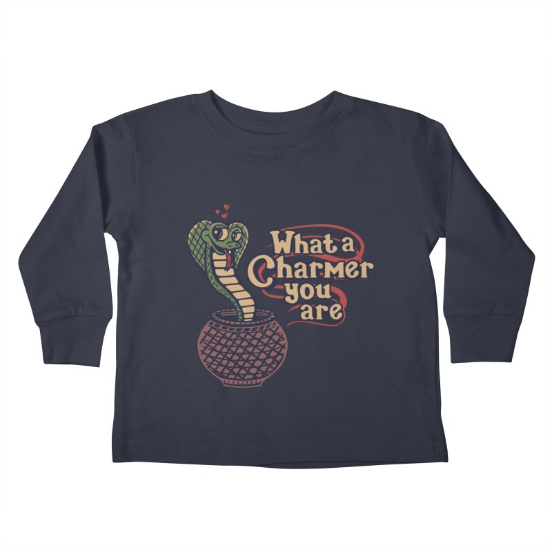Charmed I'm sure Kids Toddler Longsleeve T-Shirt by Ibyes