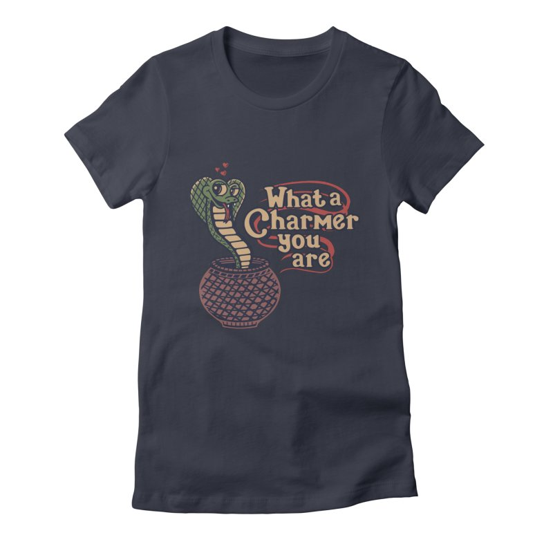 Charmed I'm sure Women's Fitted T-Shirt by Ibyes