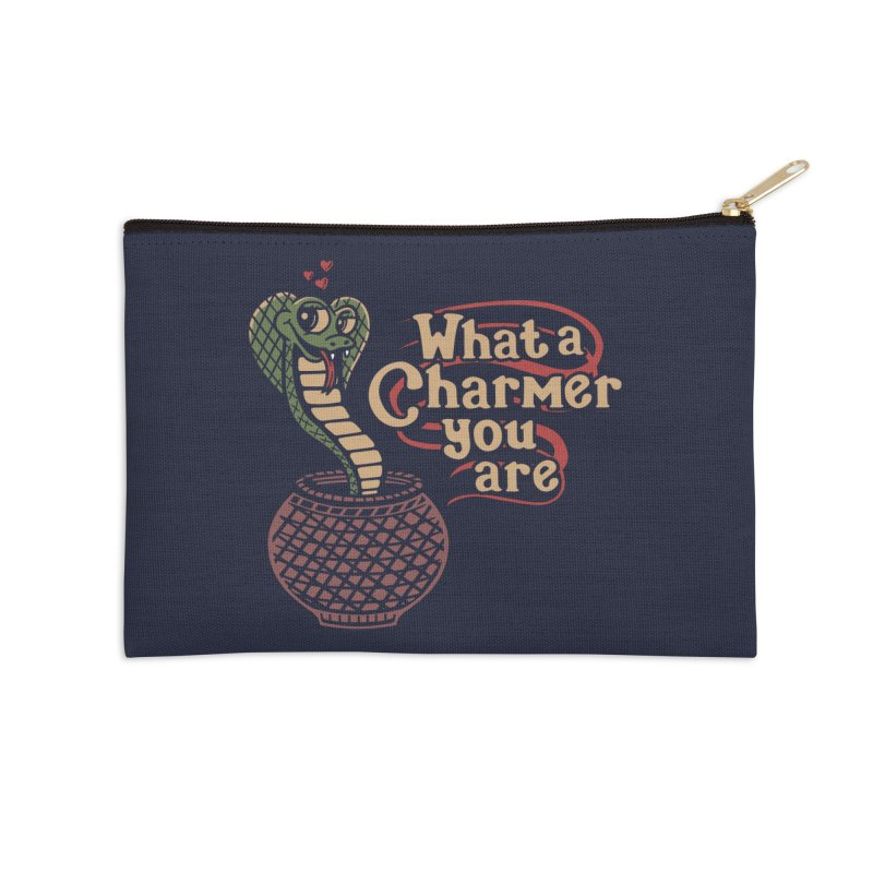 Charmed I'm sure Accessories Zip Pouch by Ibyes