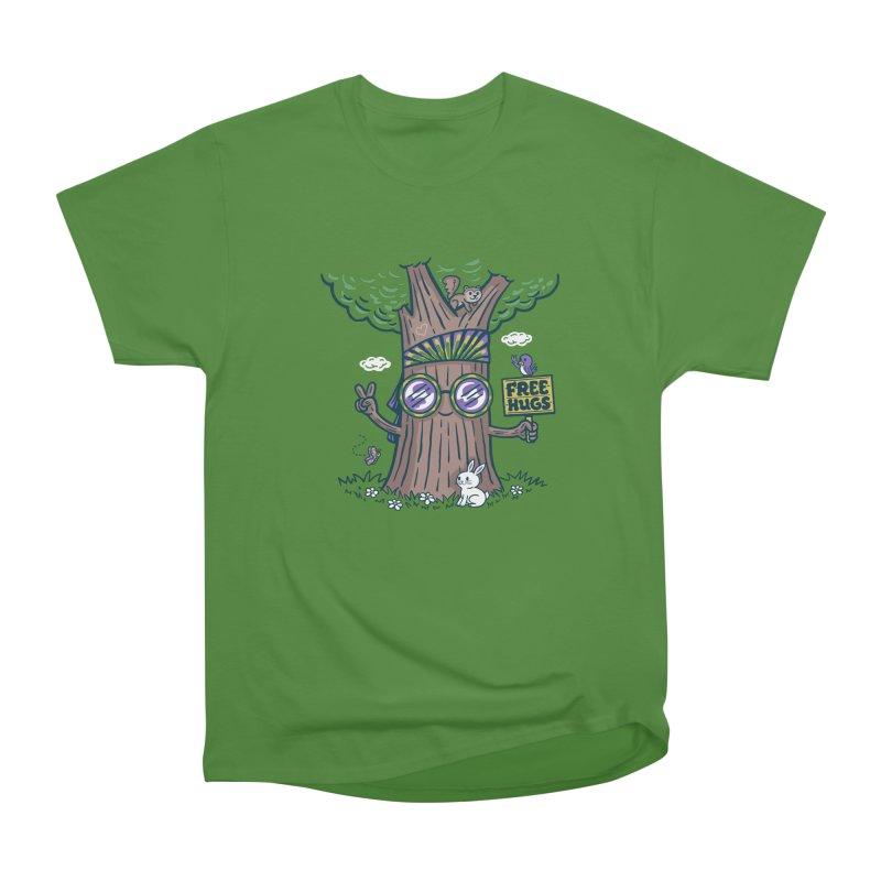 Tree Hugger Women's Classic Unisex T-Shirt by Ibyes
