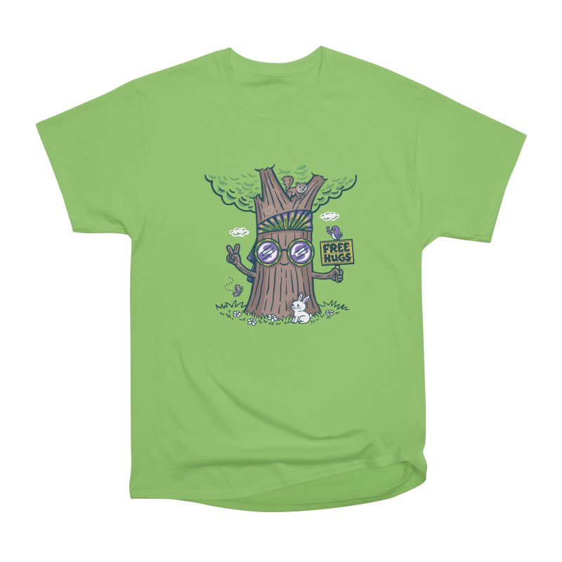 Tree Hugger Women's Heavyweight Unisex T-Shirt by Ibyes