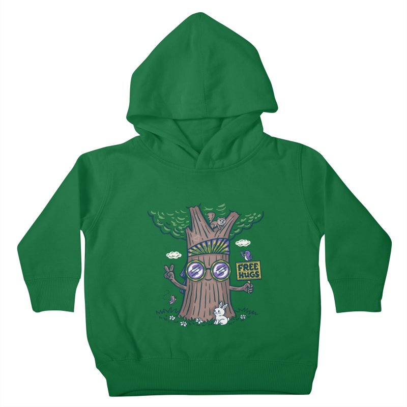 Tree Hugger Kids Toddler Pullover Hoody by Ibyes
