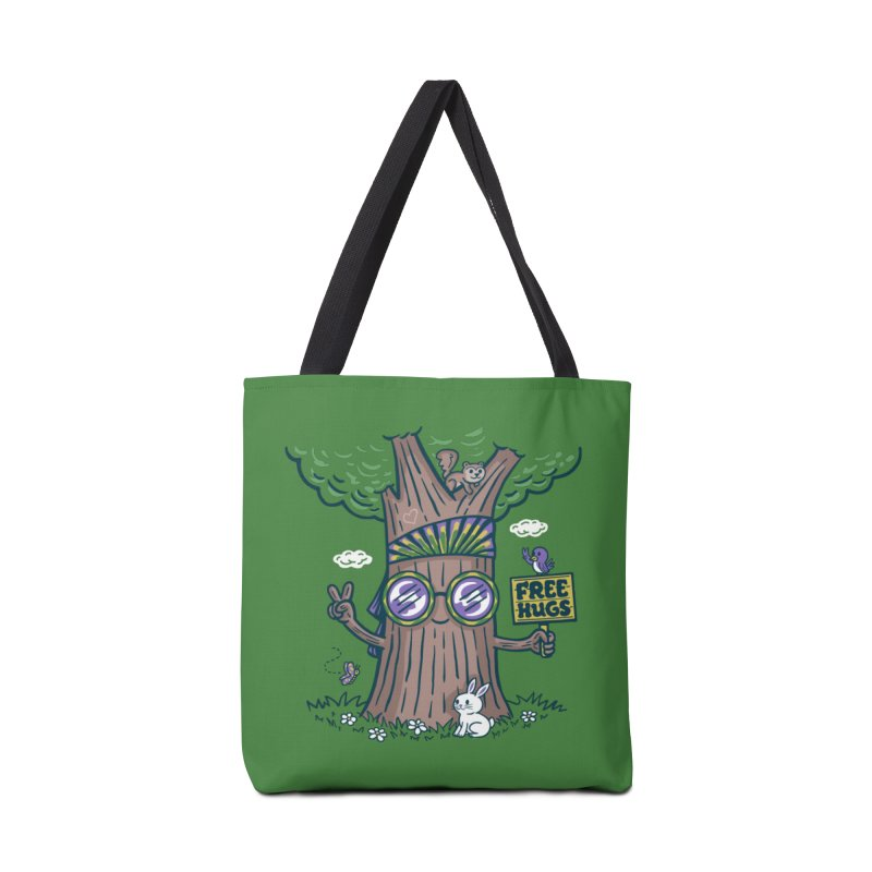 Tree Hugger Accessories Bag by Ibyes