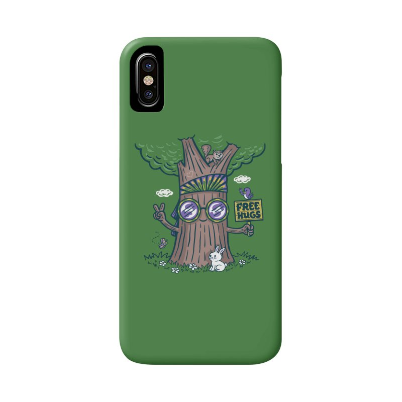 Tree Hugger Accessories Phone Case by Ibyes