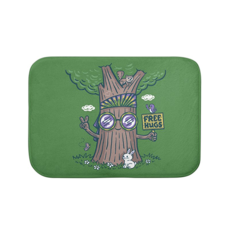 Tree Hugger Home Bath Mat by Ibyes