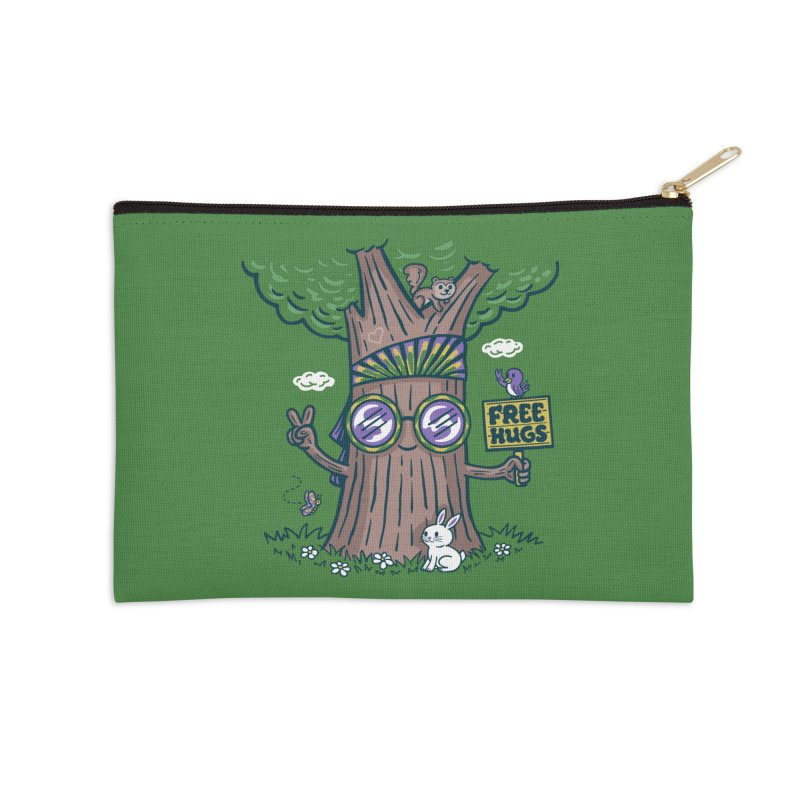 Tree Hugger Accessories Zip Pouch by Ibyes