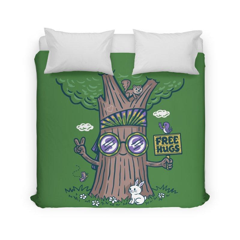 Tree Hugger Home Duvet by Ibyes