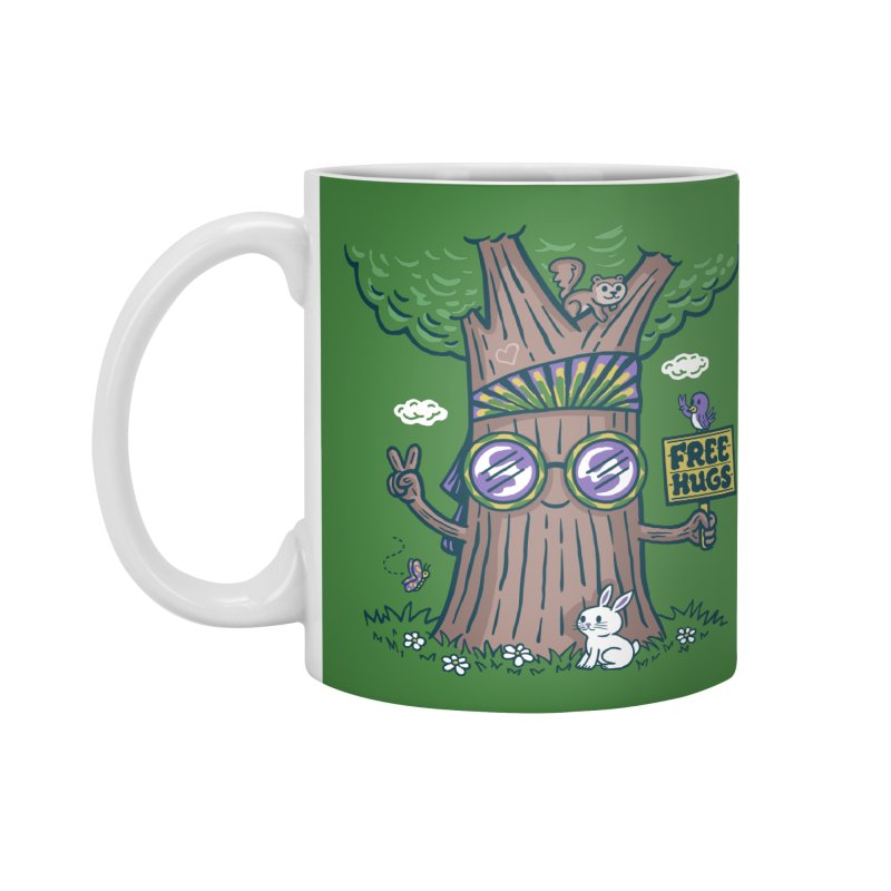 Tree Hugger Accessories Mug by Ibyes