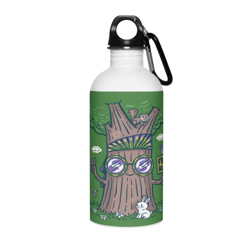 Tree Hugger Accessories Water Bottle by Ibyes