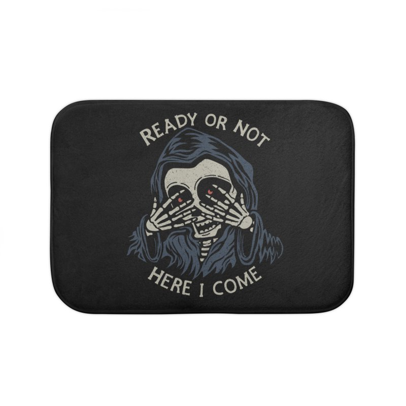 Grim Seeker Home Bath Mat by Ibyes