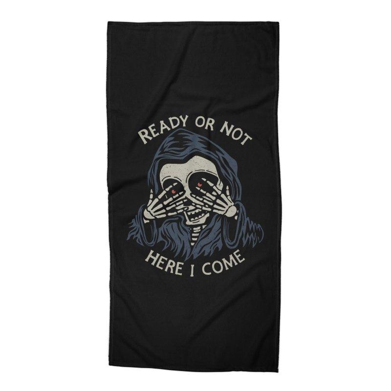 Grim Seeker Accessories Beach Towel by Ibyes