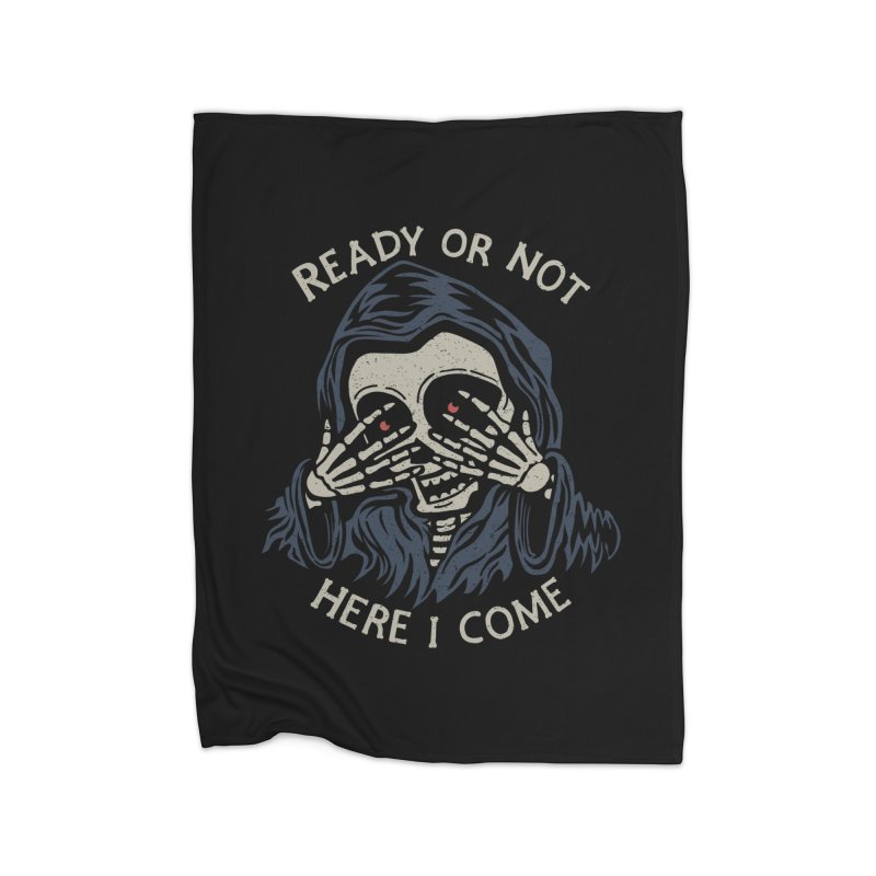 Grim Seeker Home Fleece Blanket by Ibyes